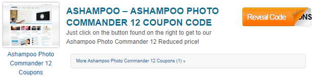 Photo Commander Coupons